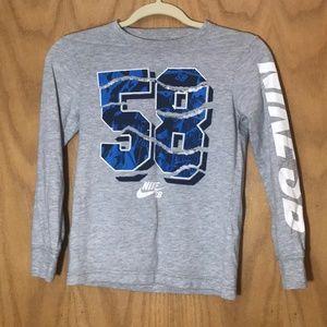 Nike SB, used, small 8-10yrs. gray